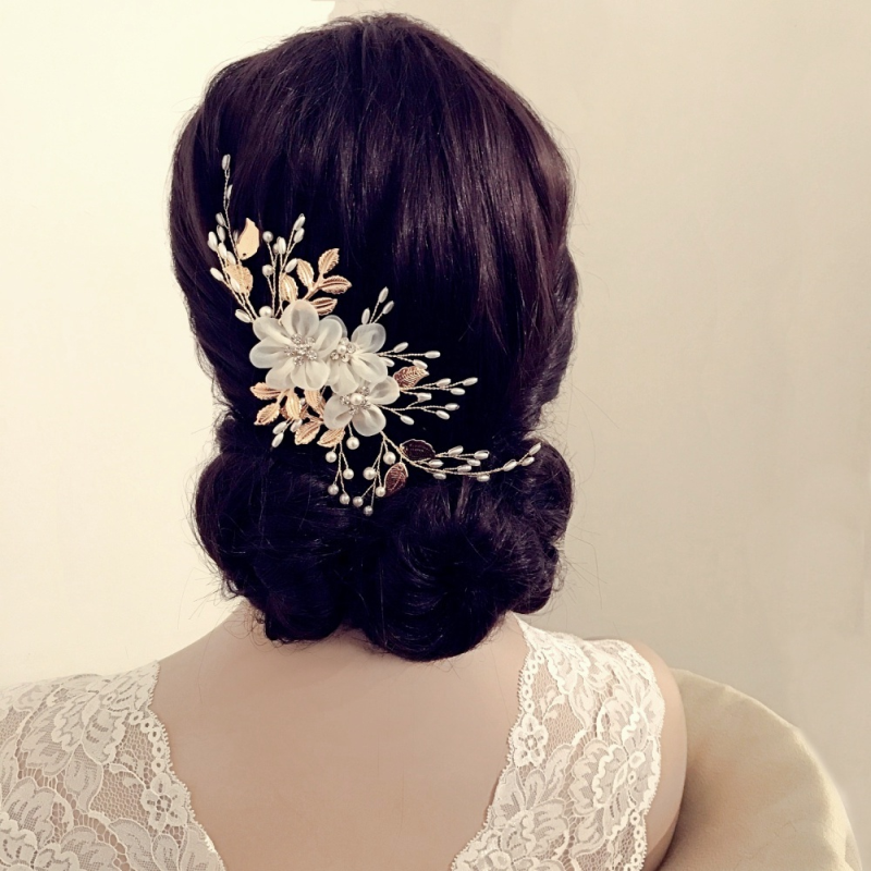 Flora Wedding Hair Vine