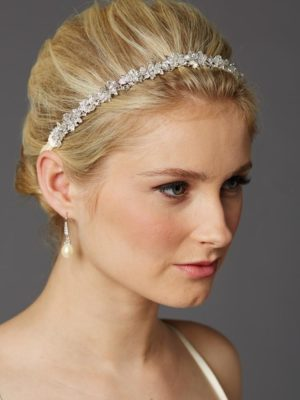 Clarence Silver Headband